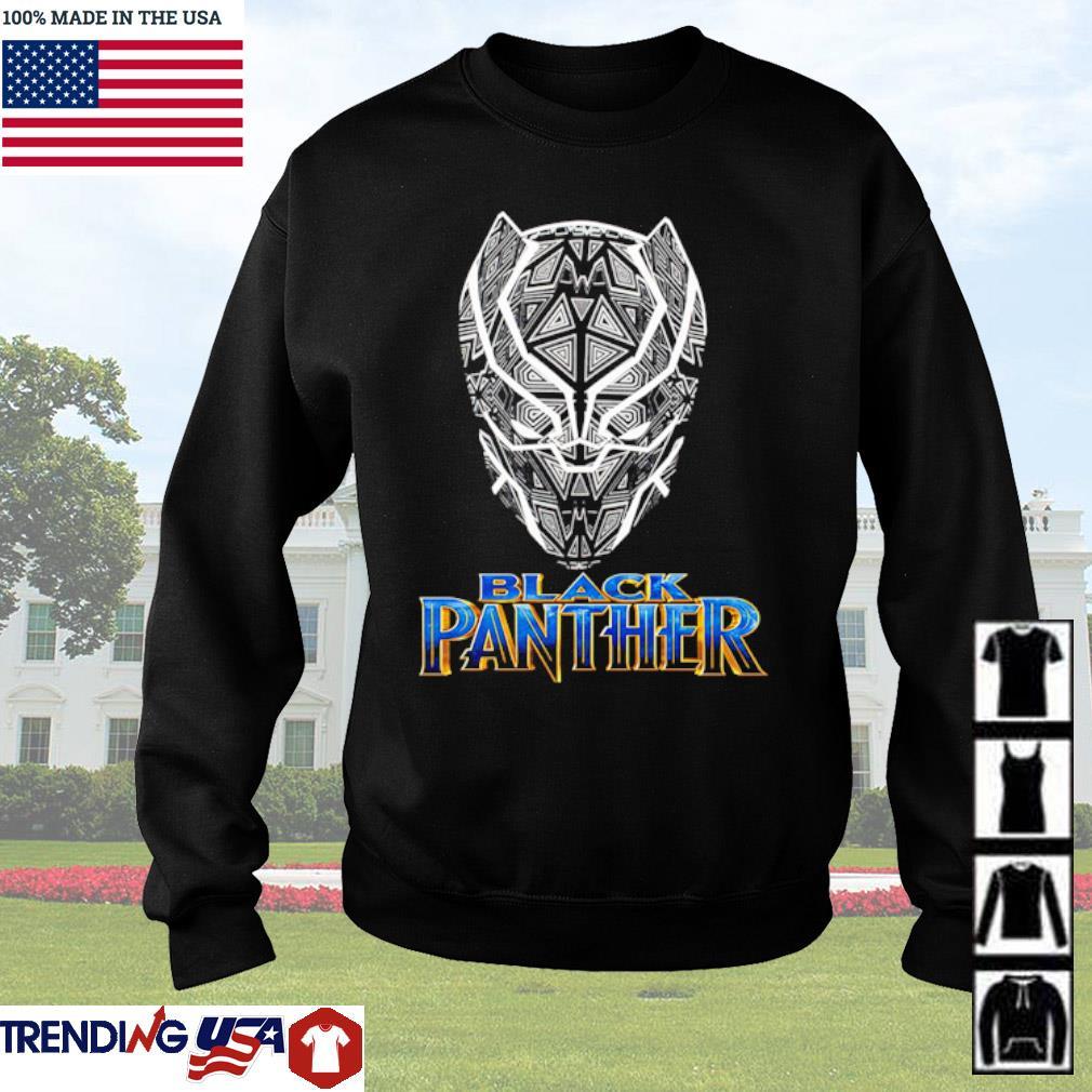 Black Panther TT Vertical s Sweater Black