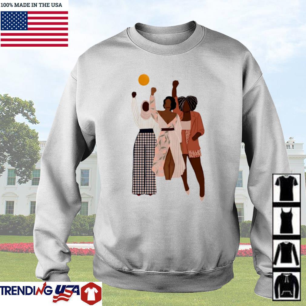 Black women black lives matter s Sweater White