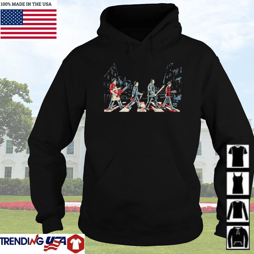 Horror character movies Abbey Road s Hoodie Black