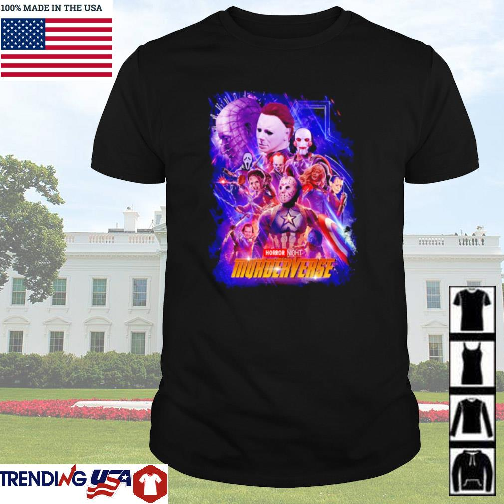 Marvel Avengers Horror characters horror night Murderverse shirt