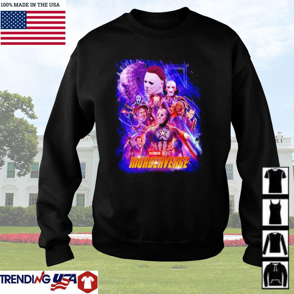 Marvel Avengers Horror characters horror night Murderverse s Sweater Black