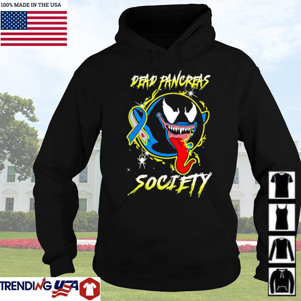 Venom Ghost Boo Dead pancreas society s Hoodie Black