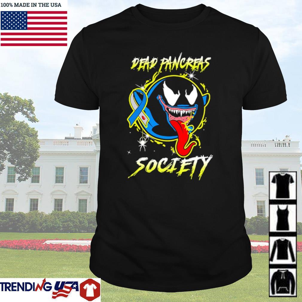 Venom Ghost Boo Dead pancreas society shirt