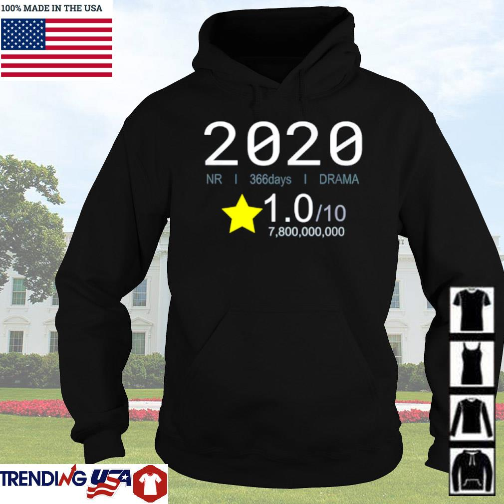 2020 Review movie style 1 star rating s Hoodie