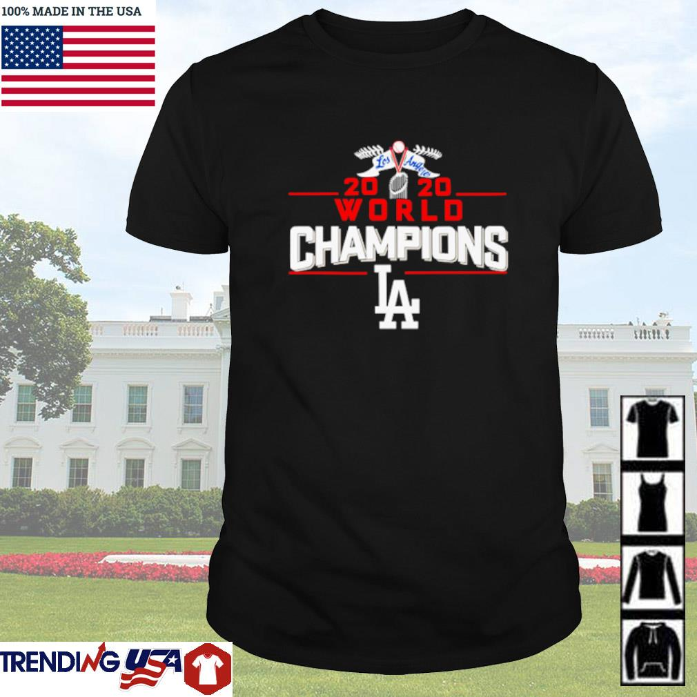 2020 World champions shirt