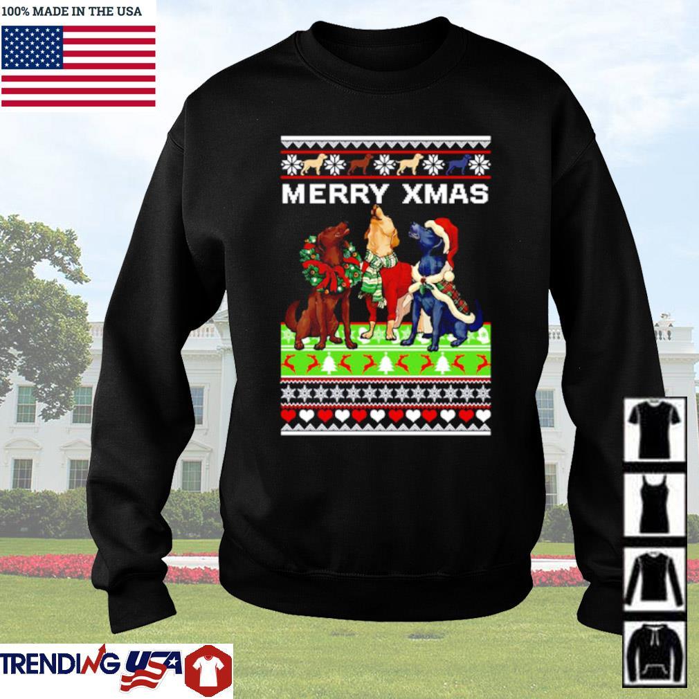 Dog mery xmas ugly christmas sweater