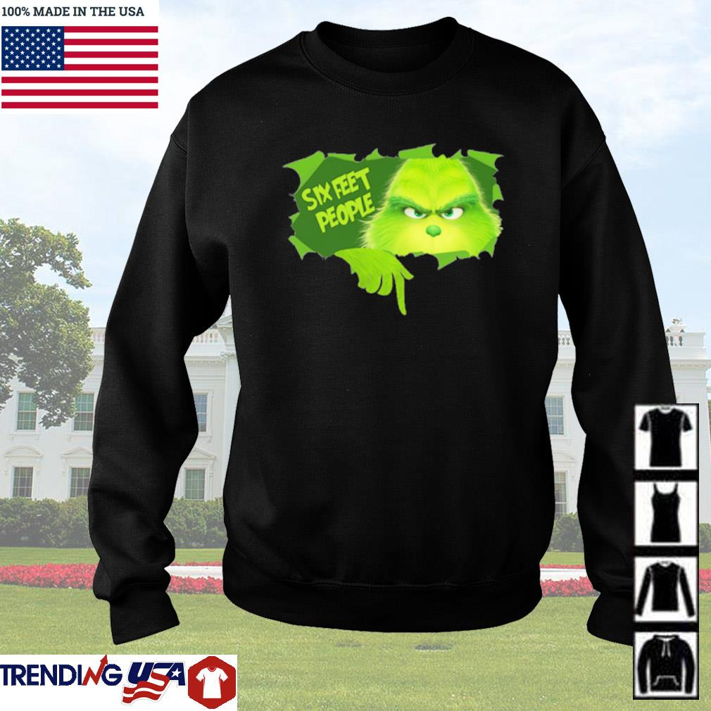 Grinch six feet people Christmas sweater
