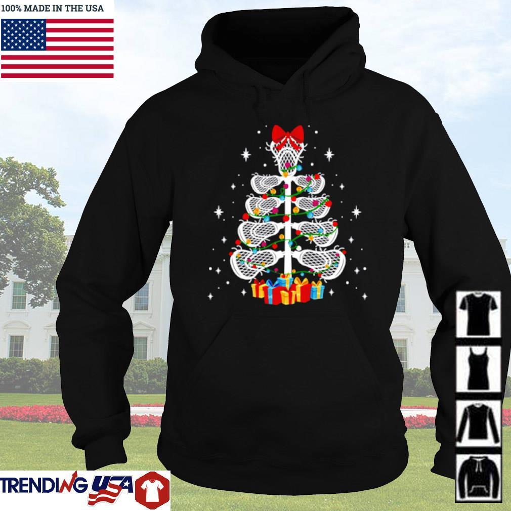 Lacrosse player Christmas sweater Hoodie
