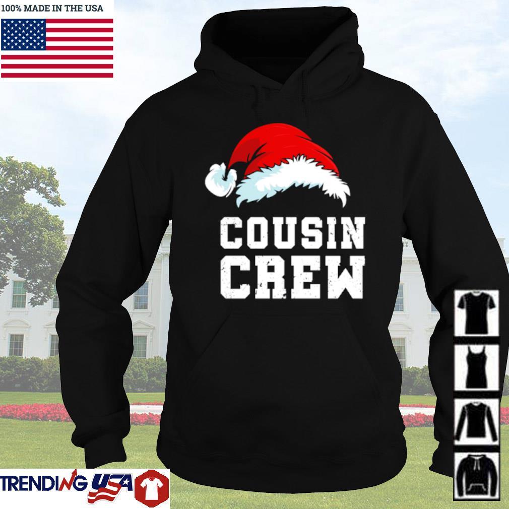 Santa hat Cousin crew Christmas sweater Hoodie