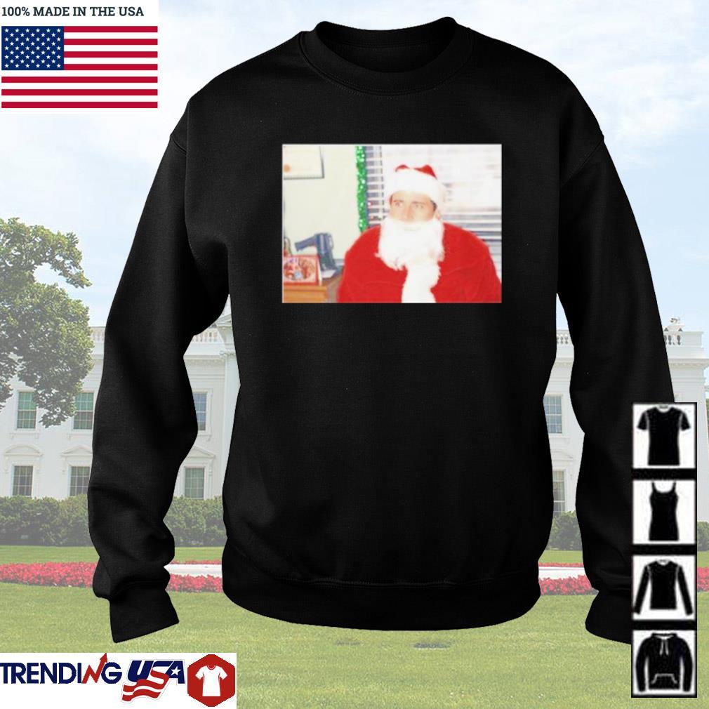Santa Michael merry Christmas sweater
