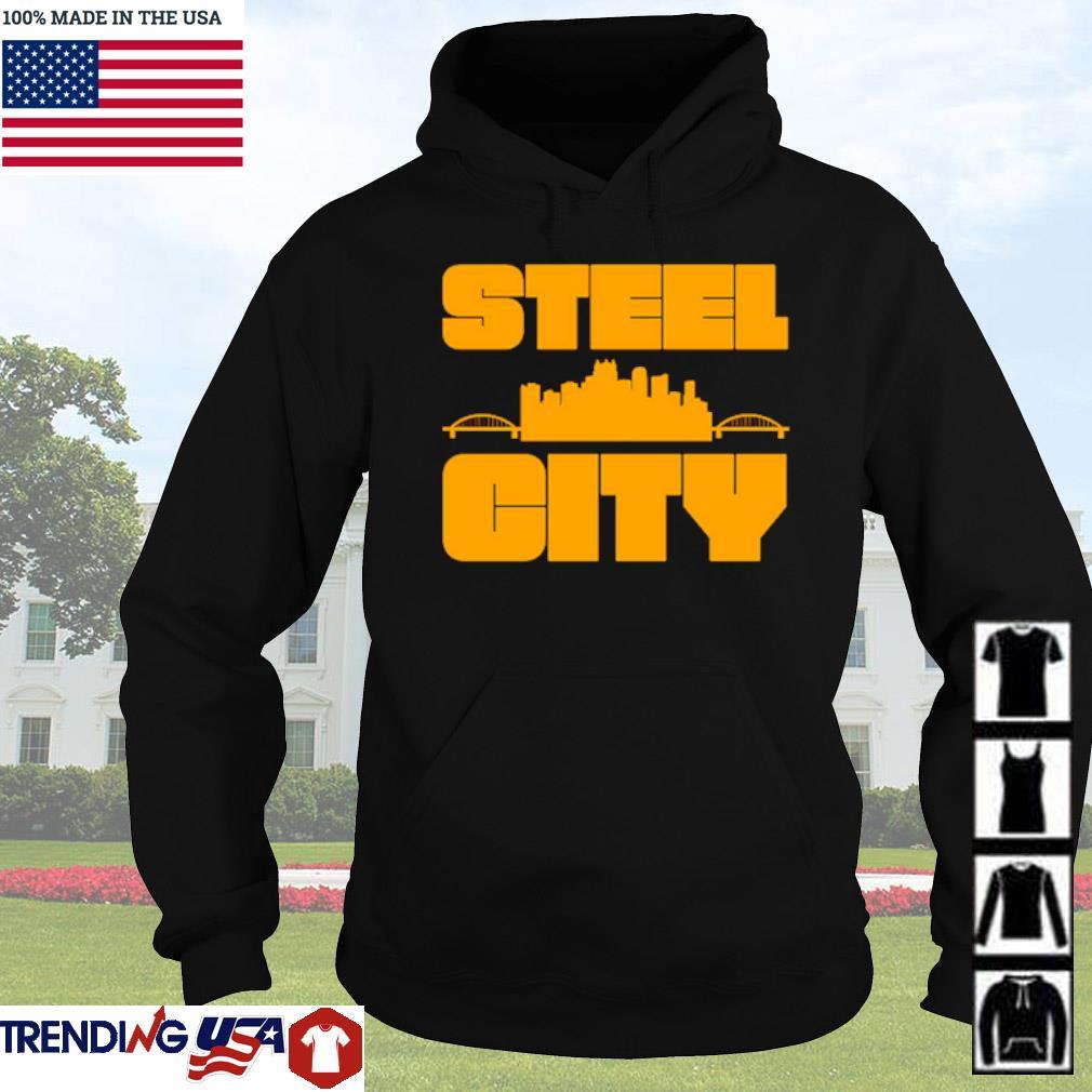 Steel city Pittsburgh Pennsylvania retro pride s Hoodie