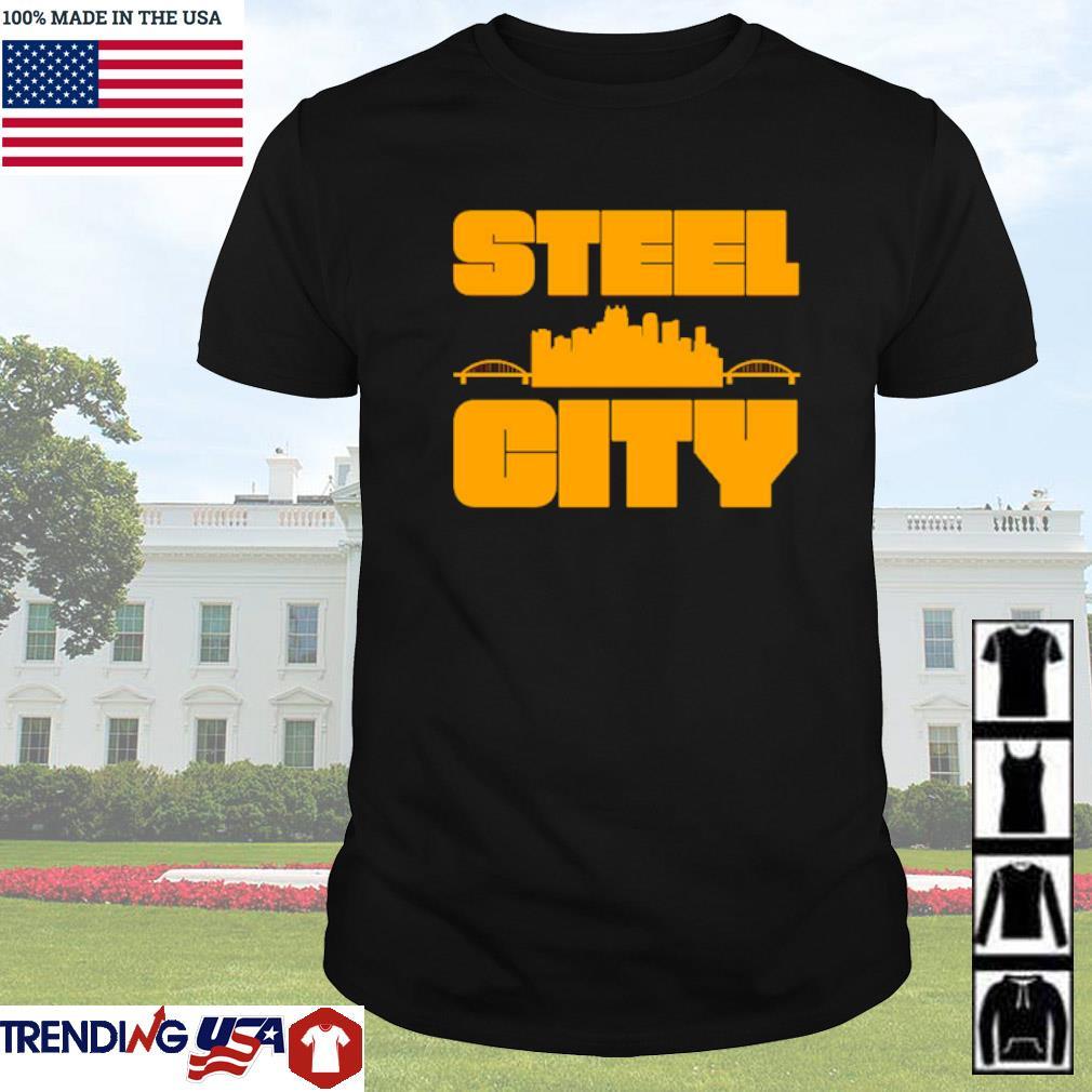 Steel city Pittsburgh Pennsylvania retro pride shirt
