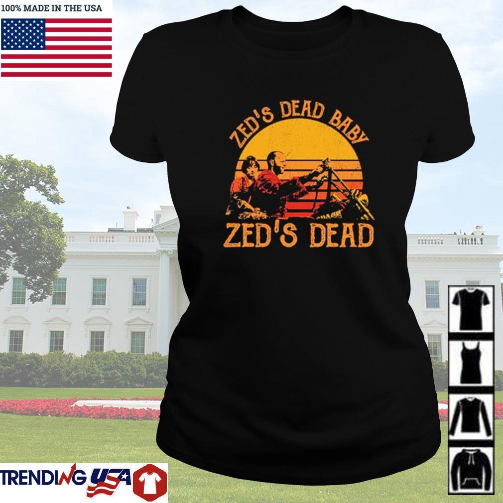 Zed's dead baby Zed's dead vintage s Ladies tee