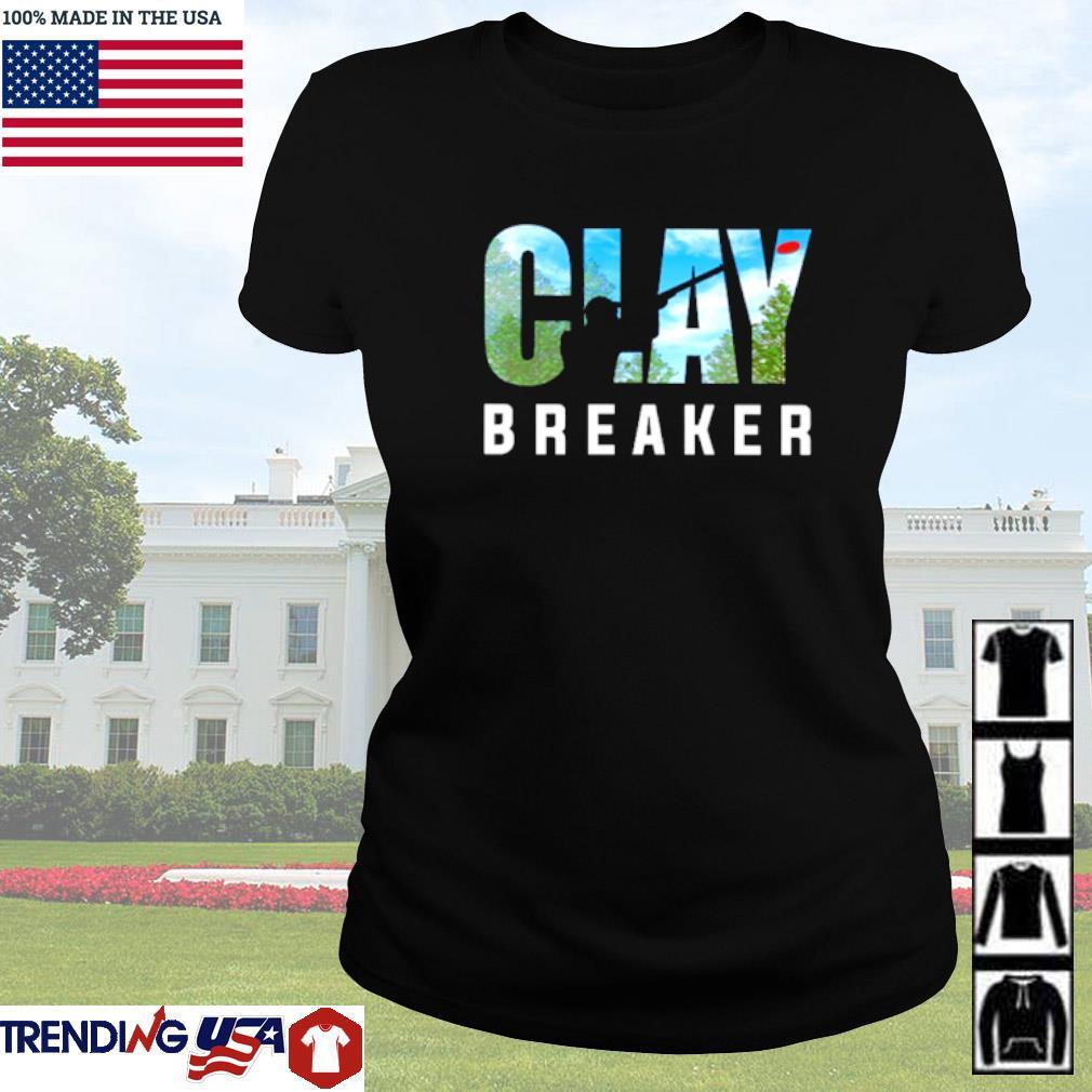 Trap shooting Clay Breaker s Ladies tee