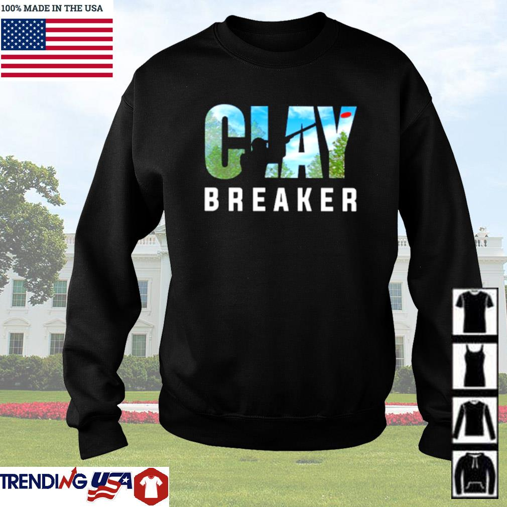 Trap shooting Clay Breaker s Sweater