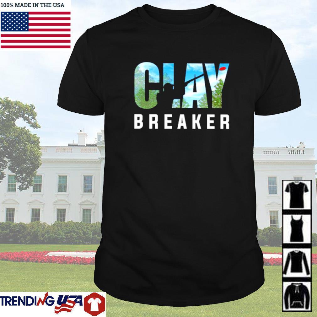 Trap shooting Clay Breaker shirt