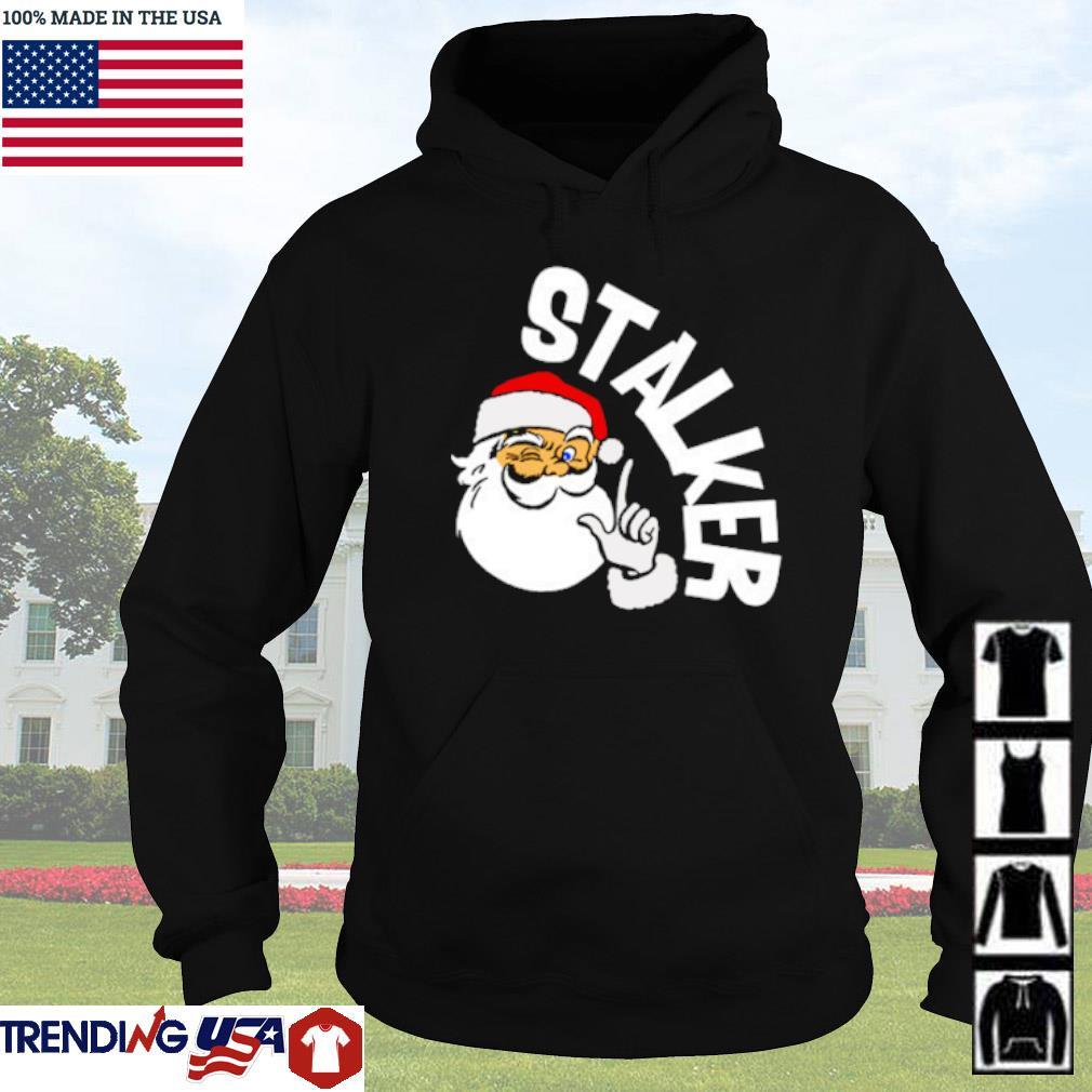 Santa Claus Stalker Christmas sweater Hoodie