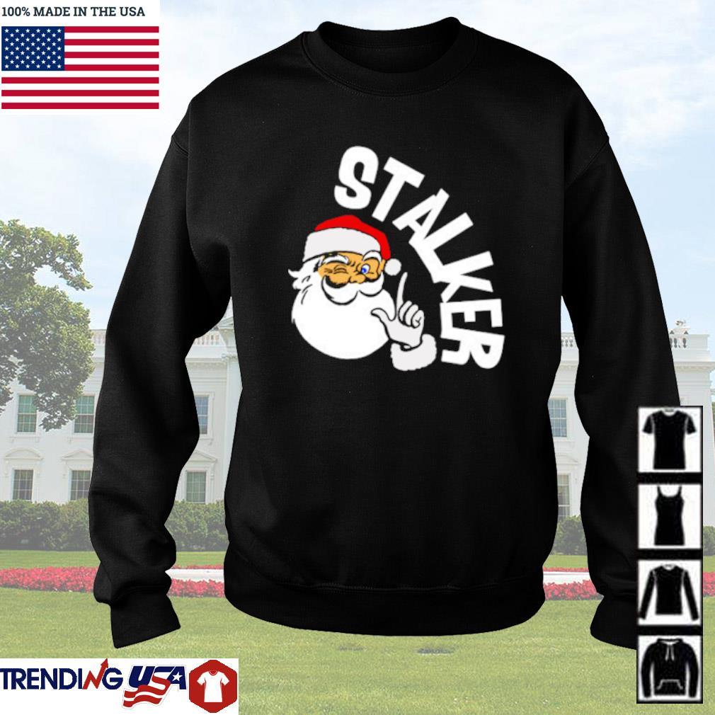 Santa Claus Stalker Christmas sweater