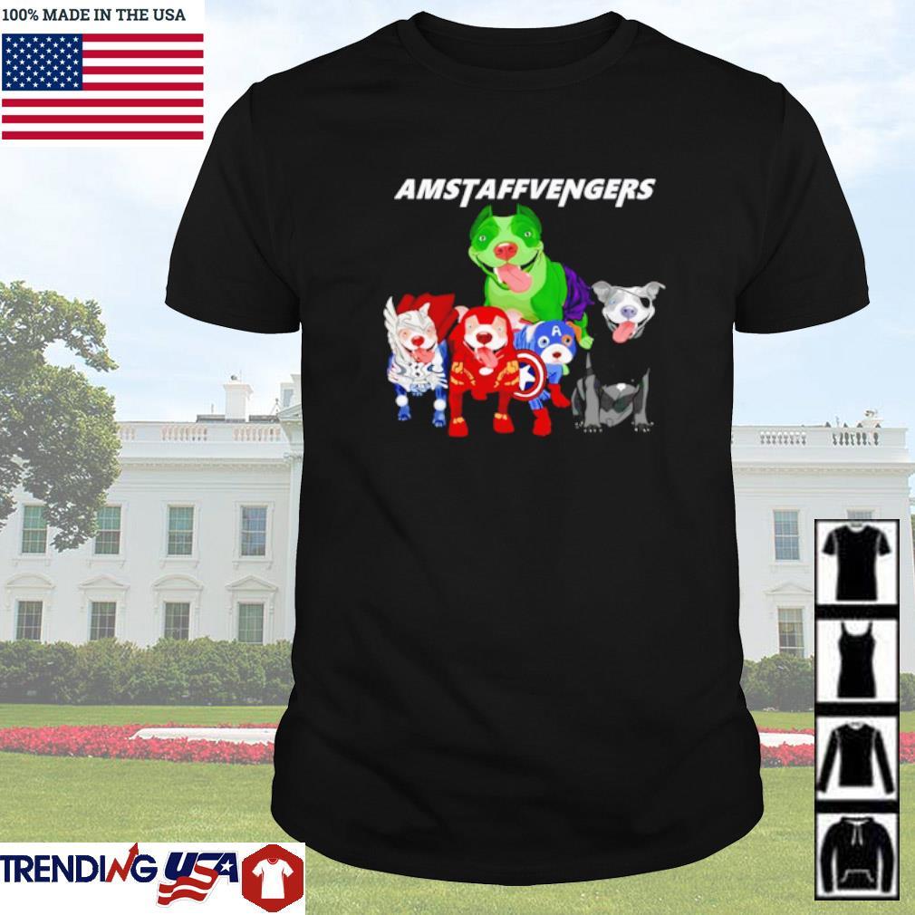 The Marvel Avengers Amstaffvengers shirt