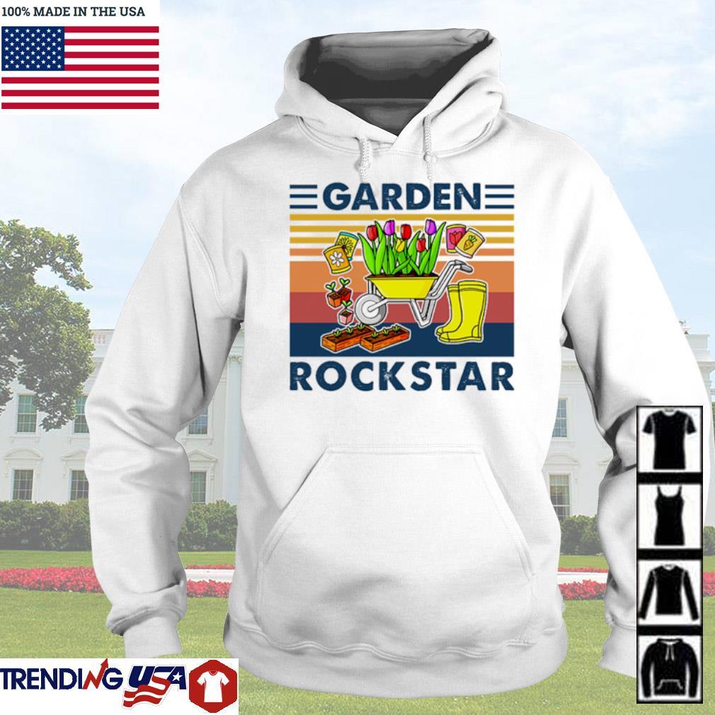Vintage Garden rockstar s Hoodie