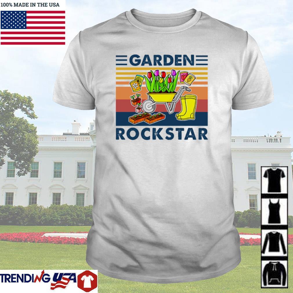 Vintage Garden rockstar shirt
