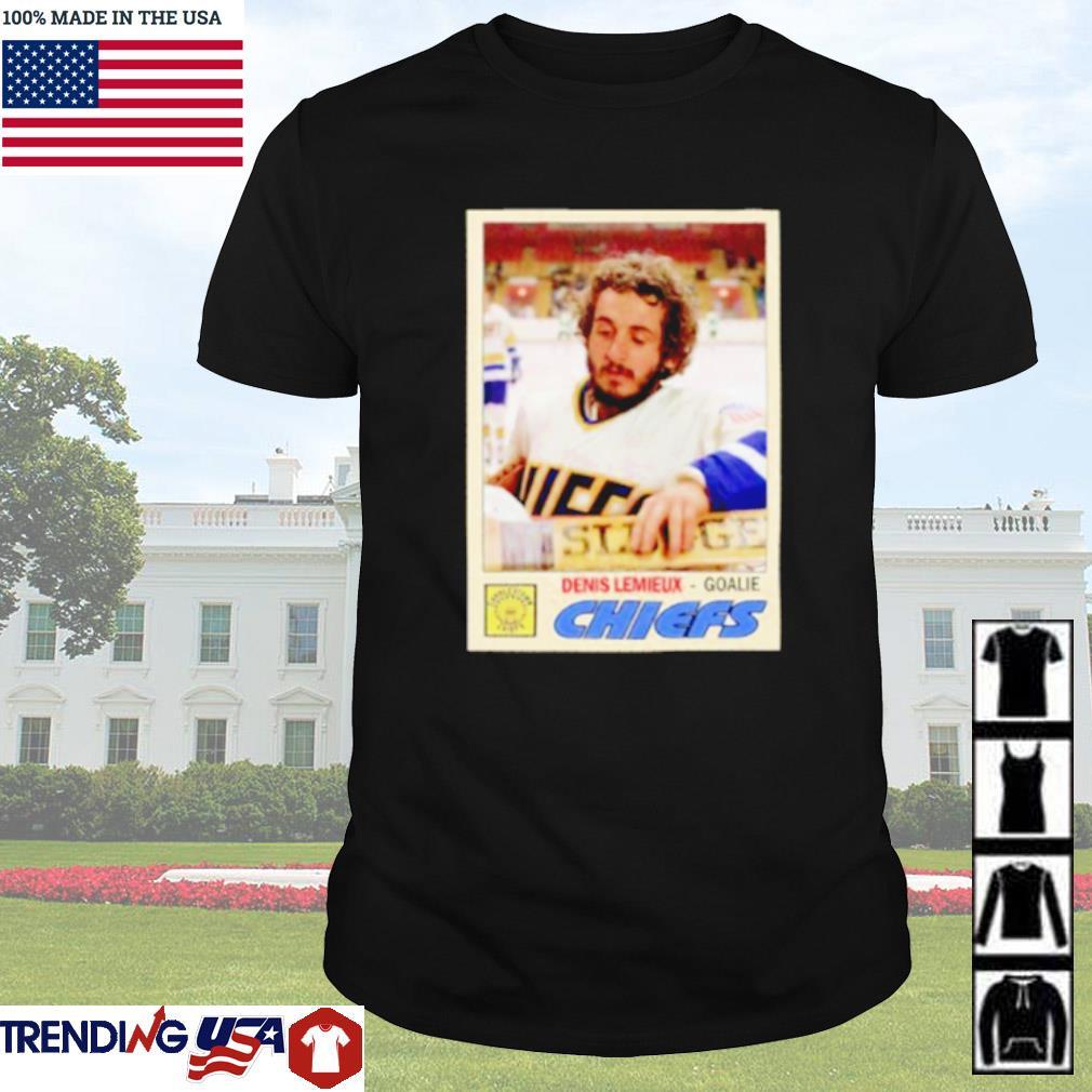 Denis Lemieux goalie Chiefs shirt