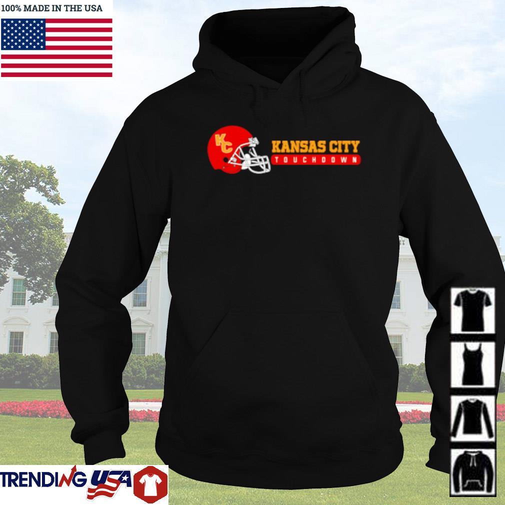 Kansas City touchdown football s Hoodie