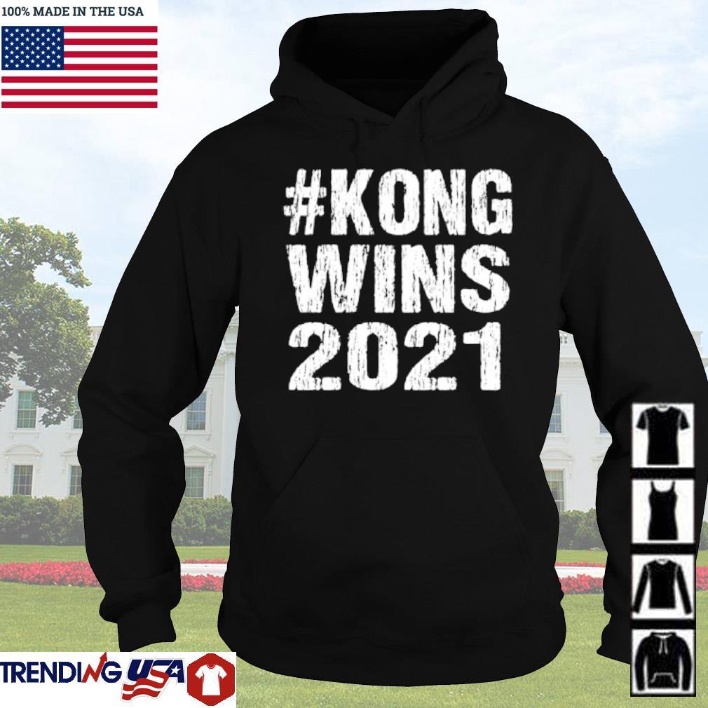 #Kong wins 2021 s Hoodie