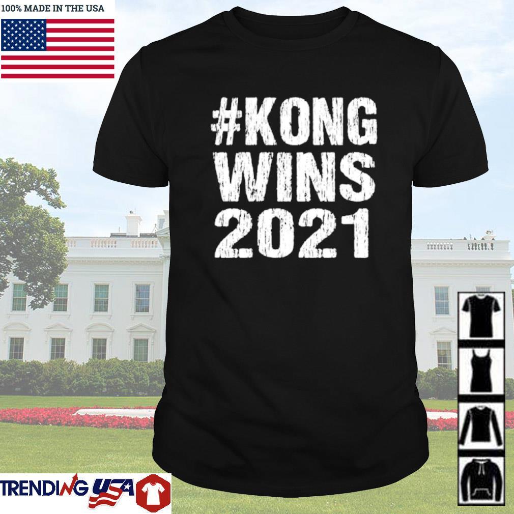 #Kong wins 2021 shirt