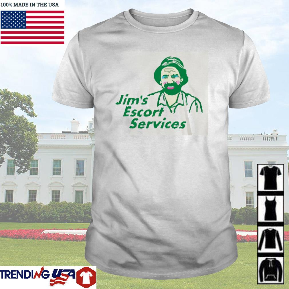 Jim's Escort services shirt