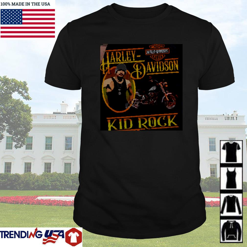 Motor Harley-Davidson cycles Kid Rock shirt