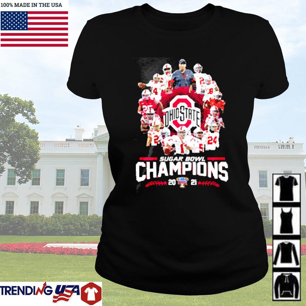 Ohio State Buckeyes sugar bowl champions 2021 s Ladies tee