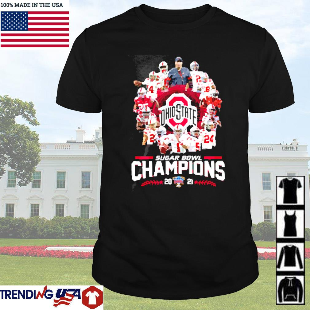 Ohio State Buckeyes sugar bowl champions 2021 shirt