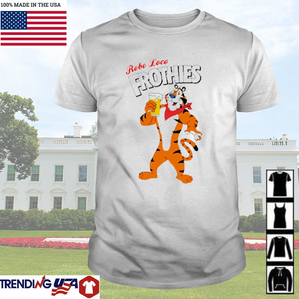 Tiger beer robo loco frothies shirt